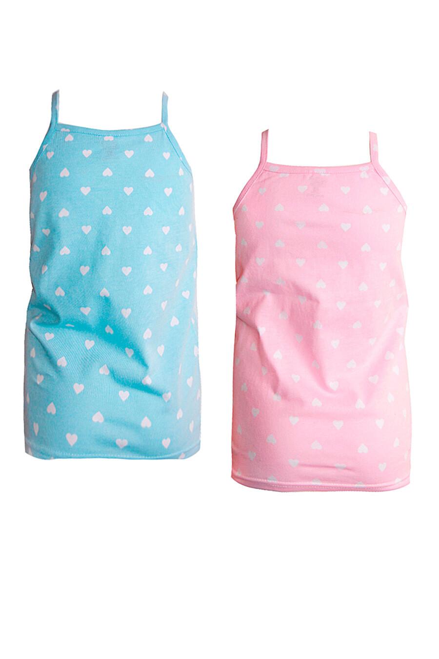 Майка 2 шт. для девочек N.O.A. 334976 купить оптом от производителя. Совместная покупка детской одежды в OptMoyo