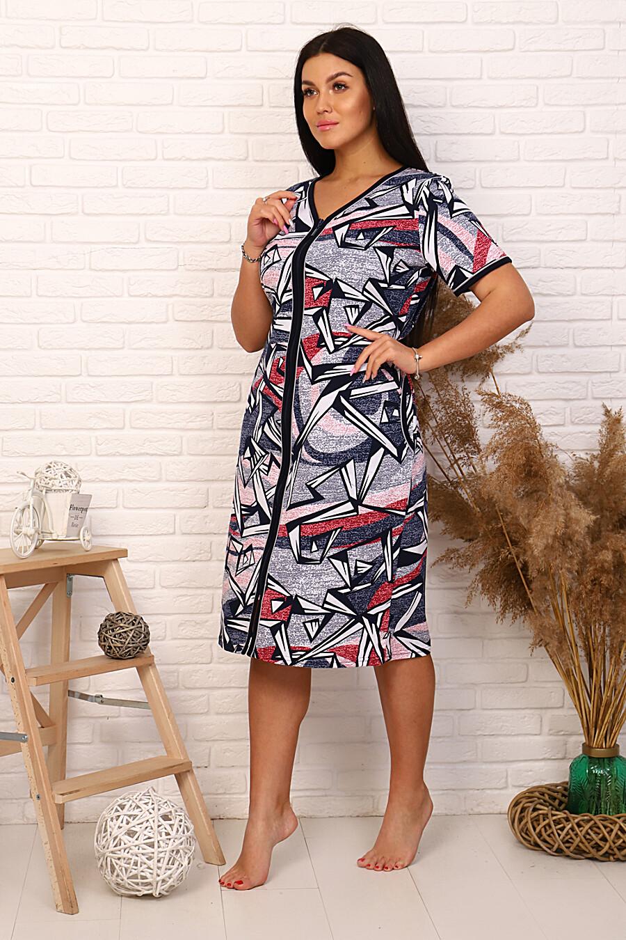 Халат 5636 для женщин НАТАЛИ 348427 купить оптом от производителя. Совместная покупка женской одежды в OptMoyo
