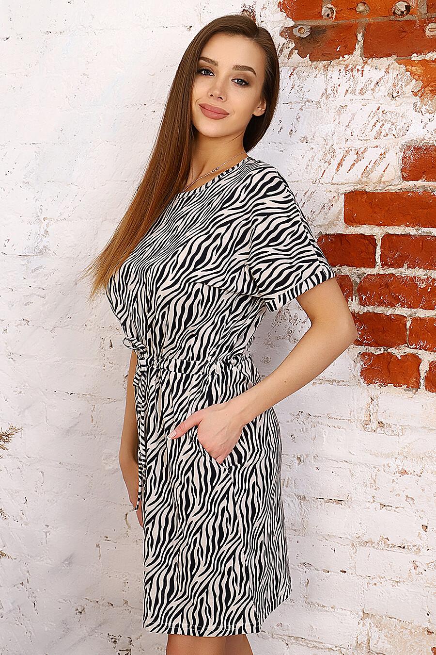 Платье 2633 для женщин НАТАЛИ 649283 купить оптом от производителя. Совместная покупка женской одежды в OptMoyo