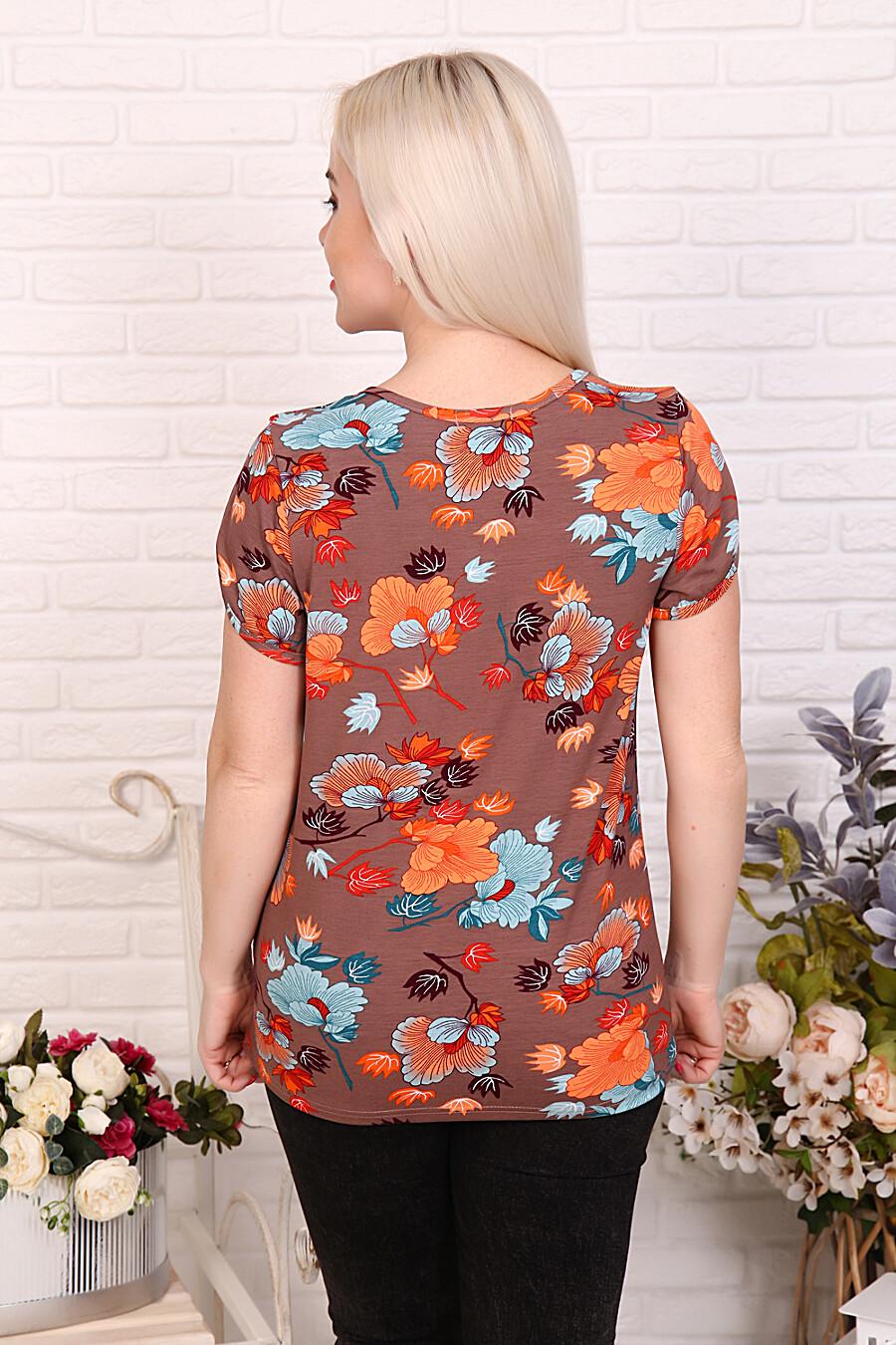 Футболка 27573 для женщин НАТАЛИ 649323 купить оптом от производителя. Совместная покупка женской одежды в OptMoyo