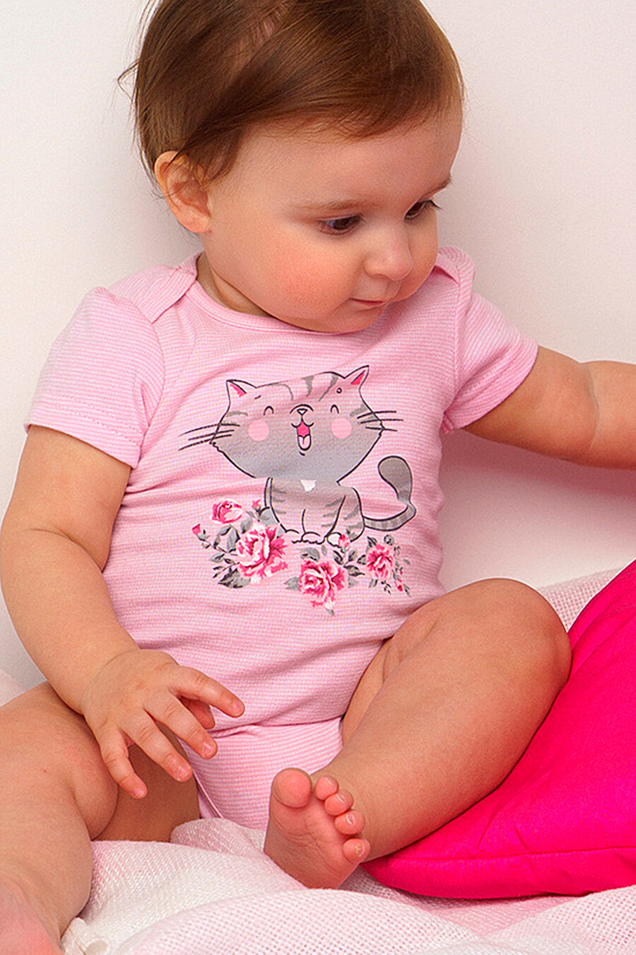 Боди 2 шт. для девочек PLAYTODAY 649436 купить оптом от производителя. Совместная покупка детской одежды в OptMoyo