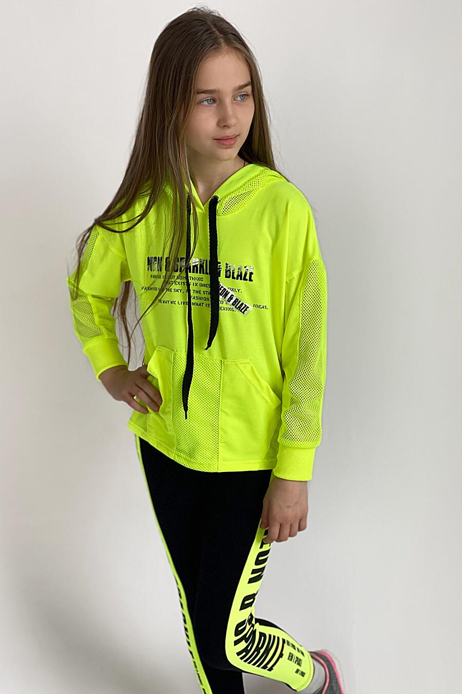 Толстовка 8102 детская для девочек НАТАЛИ 649568 купить оптом от производителя. Совместная покупка детской одежды в OptMoyo