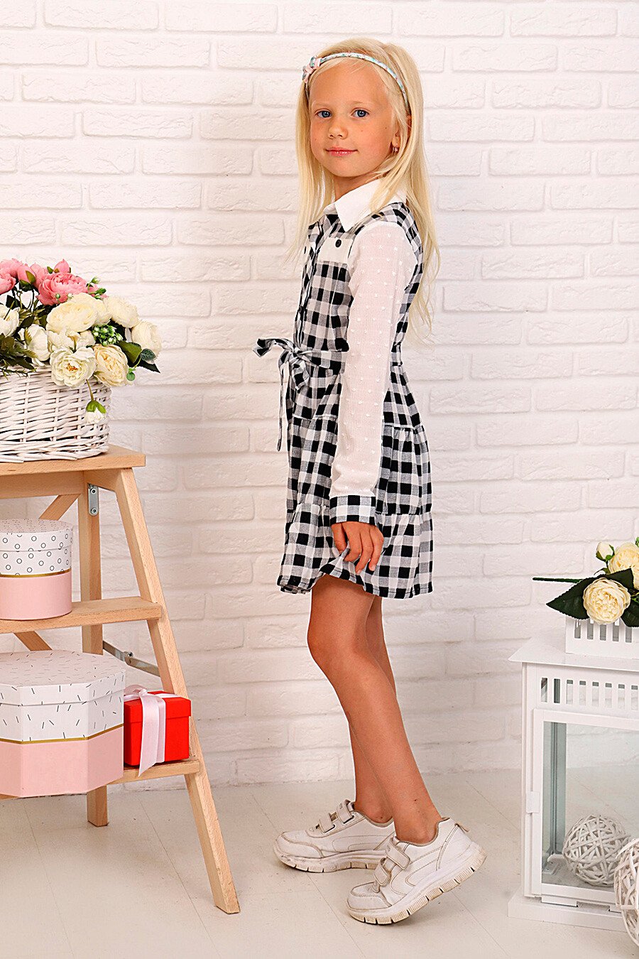Платье для девочек SOFIYA37 667881 купить оптом от производителя. Совместная покупка детской одежды в OptMoyo
