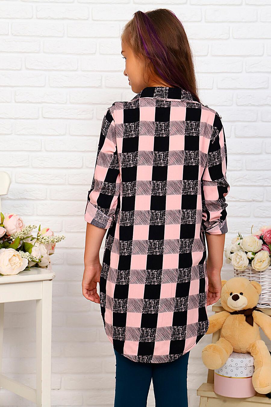Туника-рубашка для девочек SOFIYA37 667887 купить оптом от производителя. Совместная покупка детской одежды в OptMoyo