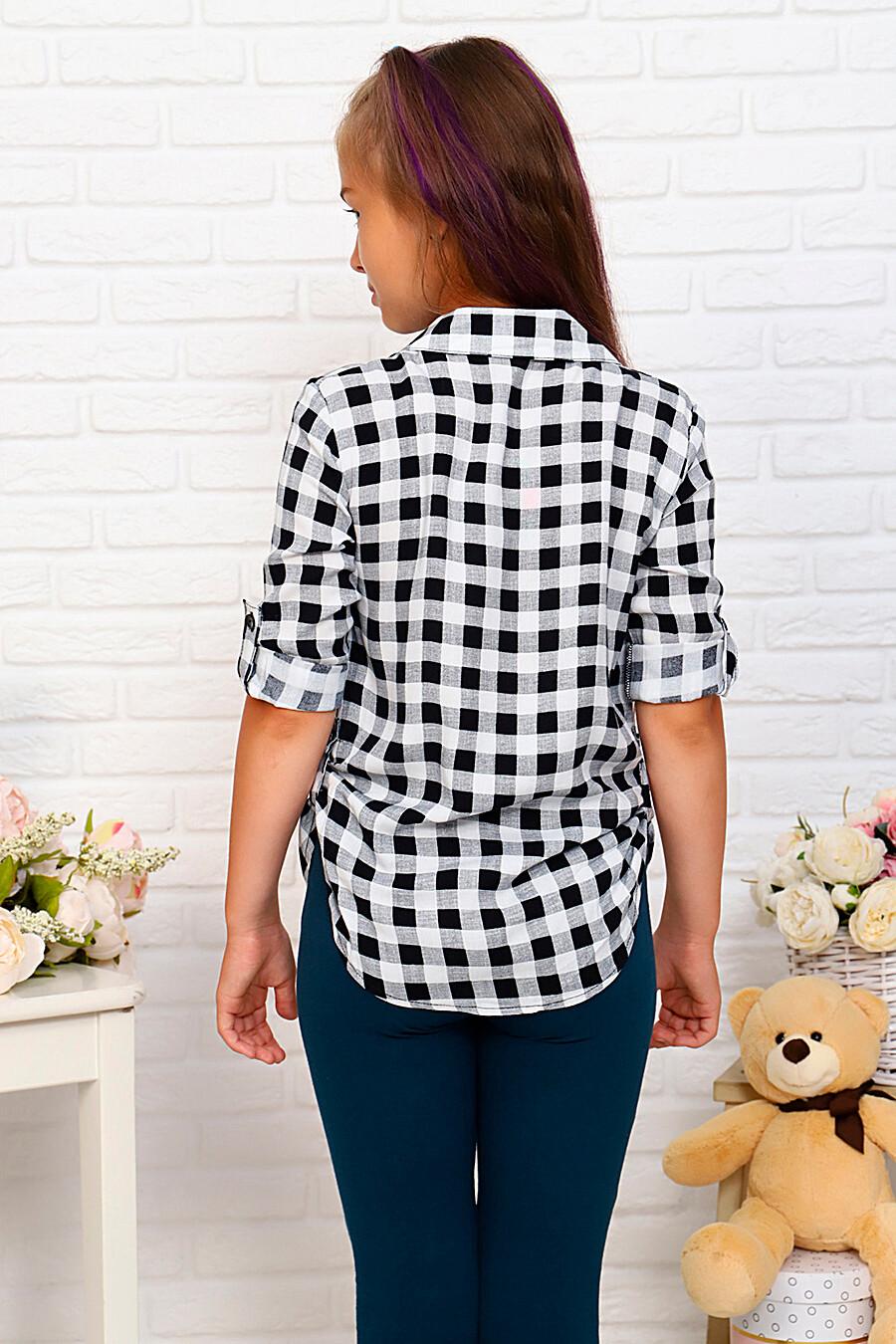 Рубашка для девочек SOFIYA37 667890 купить оптом от производителя. Совместная покупка детской одежды в OptMoyo