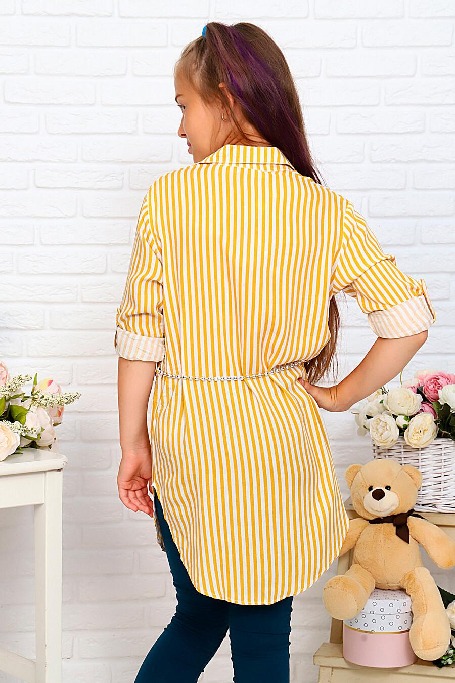 Туника-рубашка для девочек SOFIYA37 667928 купить оптом от производителя. Совместная покупка детской одежды в OptMoyo