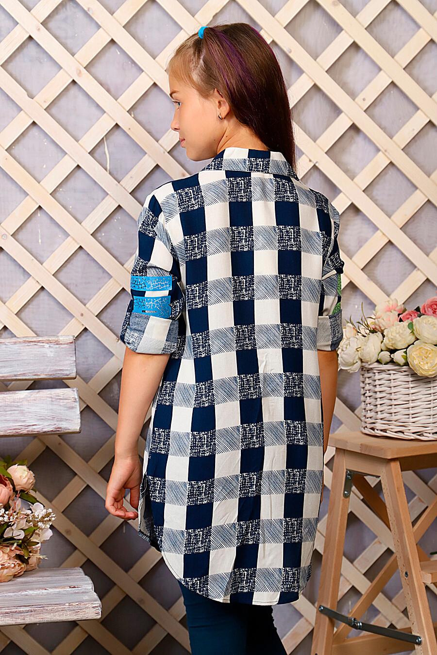 Туника-рубашка для девочек SOFIYA37 667931 купить оптом от производителя. Совместная покупка детской одежды в OptMoyo
