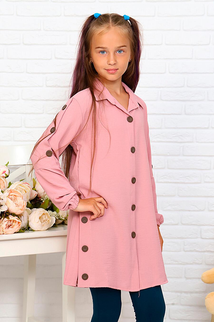 Туника-рубашка для девочек SOFIYA37 667937 купить оптом от производителя. Совместная покупка детской одежды в OptMoyo