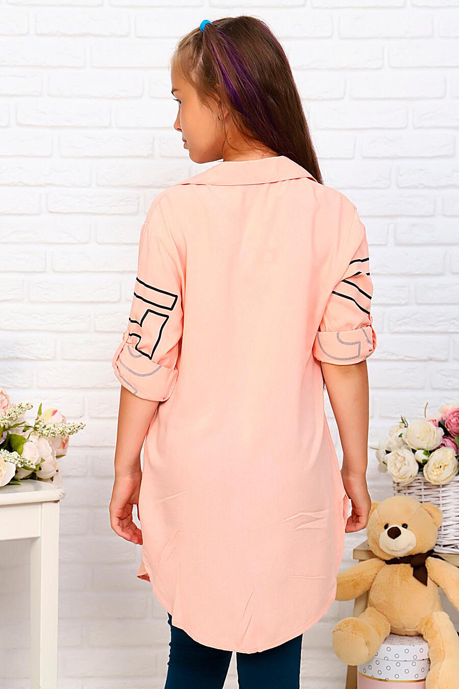 Туника-рубашка для девочек SOFIYA37 667940 купить оптом от производителя. Совместная покупка детской одежды в OptMoyo
