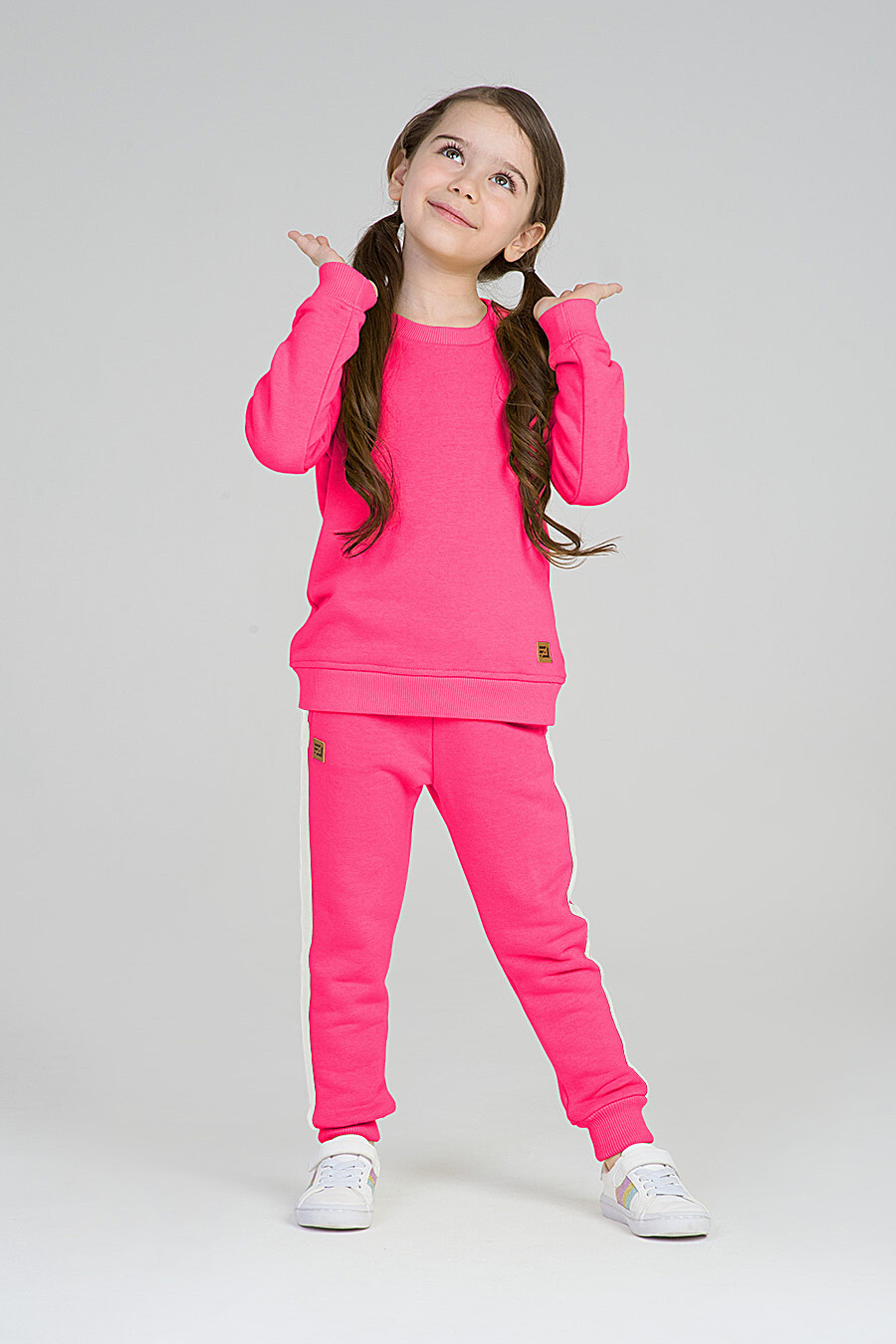 Свитшот для девочек EZANNA 668006 купить оптом от производителя. Совместная покупка детской одежды в OptMoyo