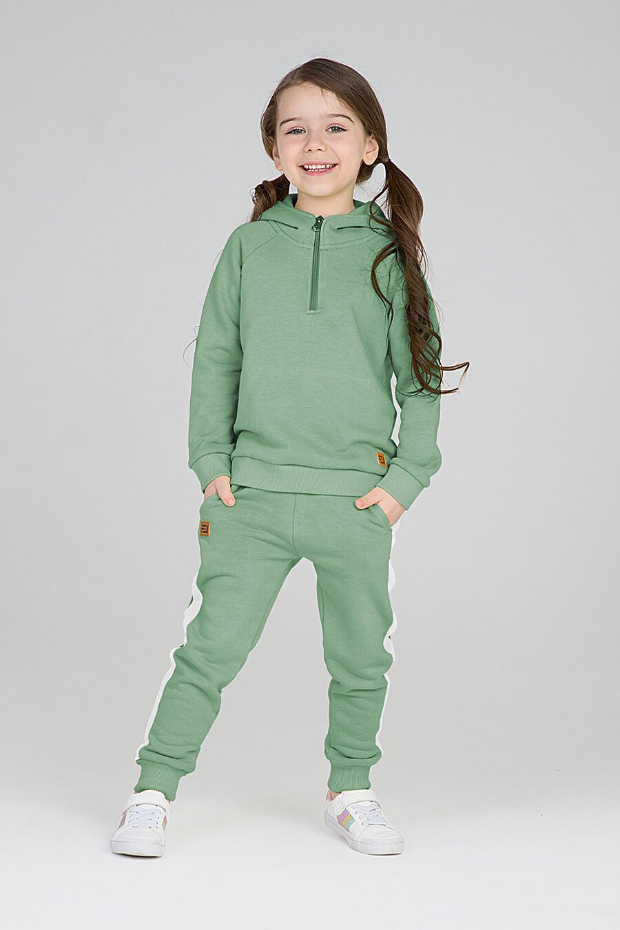 Худи для девочек EZANNA 668040 купить оптом от производителя. Совместная покупка детской одежды в OptMoyo