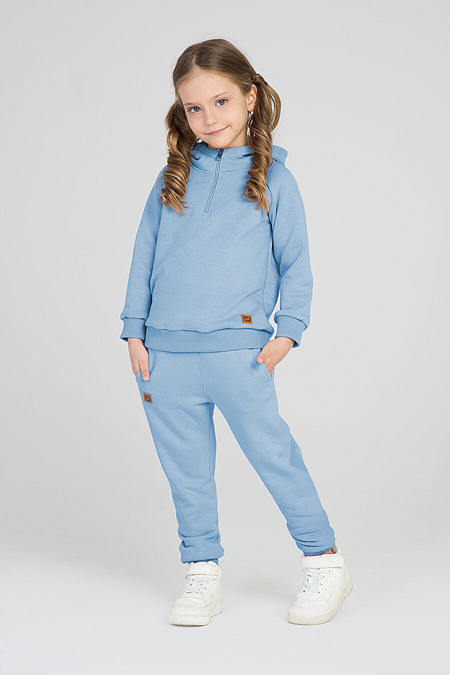 Худи для девочек EZANNA 668041 купить оптом от производителя. Совместная покупка детской одежды в OptMoyo
