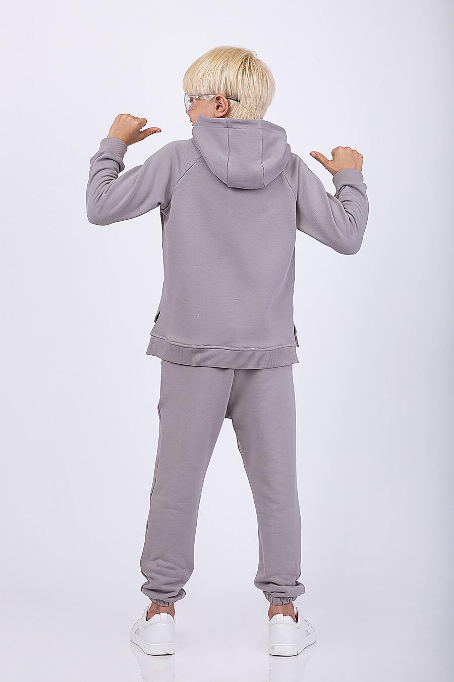 Худи для мальчиков EZANNA 682074 купить оптом от производителя. Совместная покупка детской одежды в OptMoyo