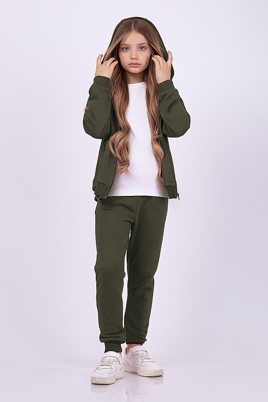 Толстовка для девочек EZANNA 682089 купить оптом от производителя. Совместная покупка детской одежды в OptMoyo