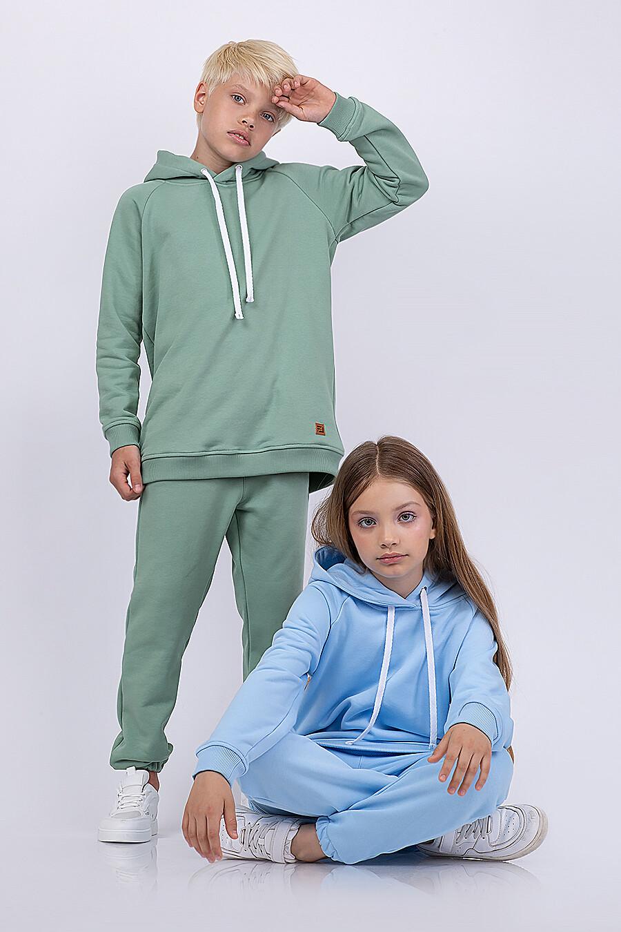 Худи для мальчиков EZANNA 682355 купить оптом от производителя. Совместная покупка детской одежды в OptMoyo