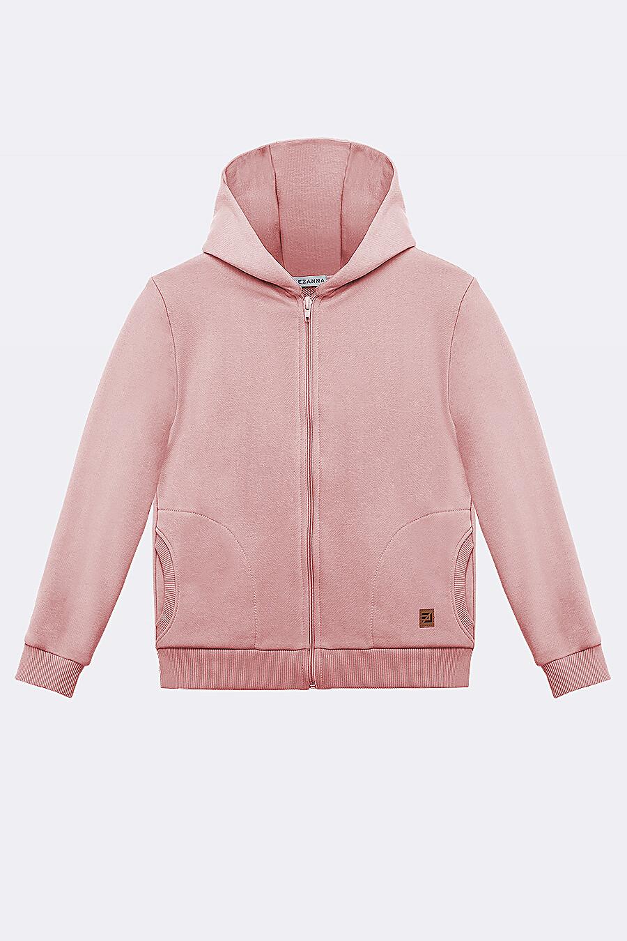 Костюм(Толстовка+Брюки) для девочек EZANNA 682390 купить оптом от производителя. Совместная покупка детской одежды в OptMoyo