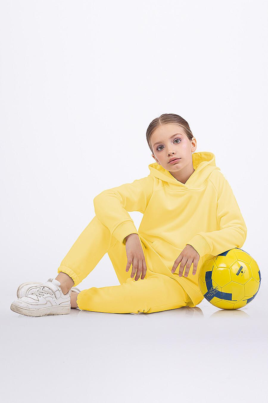 Костюм(Худи+Брюки) для девочек EZANNA 682432 купить оптом от производителя. Совместная покупка детской одежды в OptMoyo