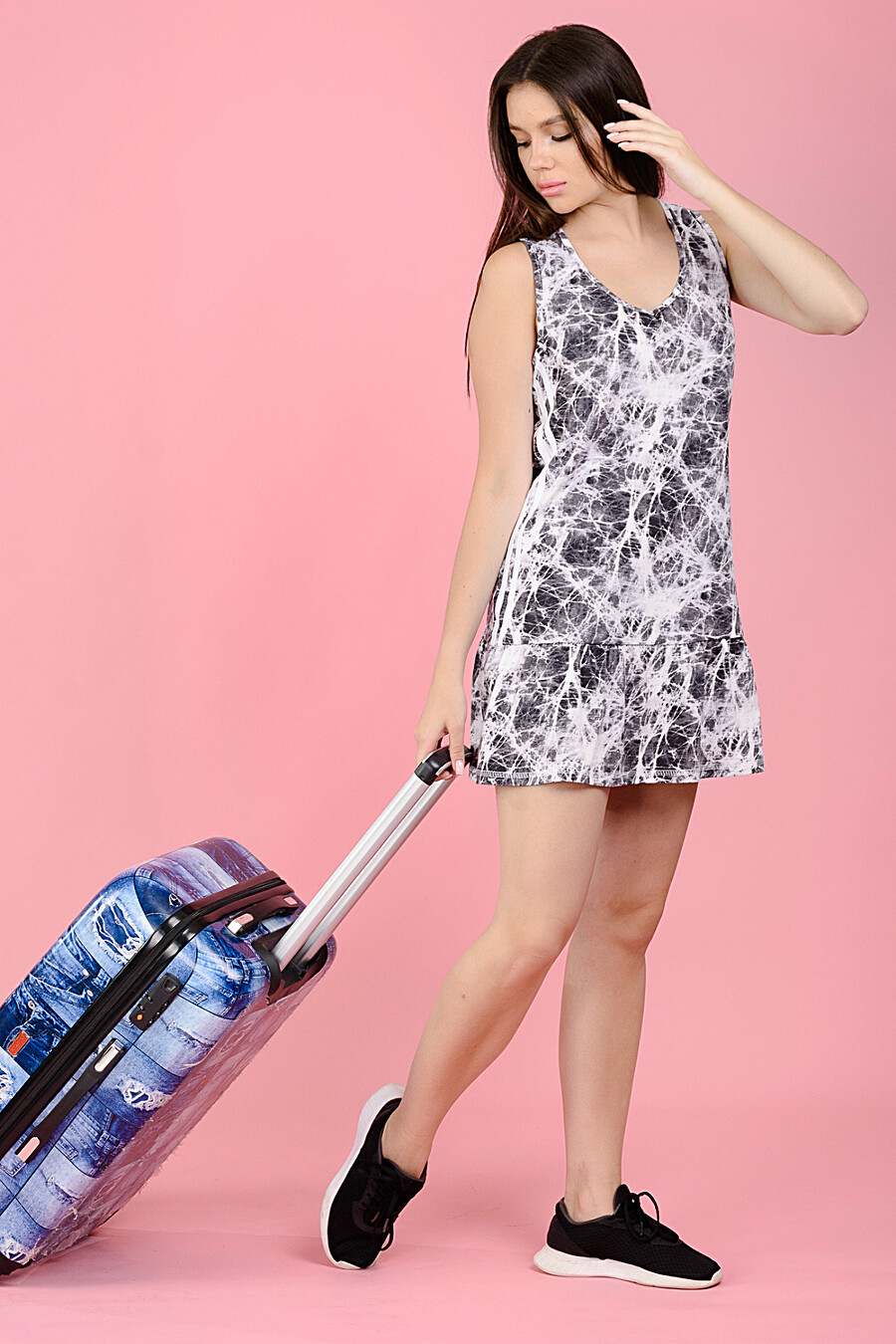 Сарафан 8119 для женщин НАТАЛИ 682473 купить оптом от производителя. Совместная покупка женской одежды в OptMoyo