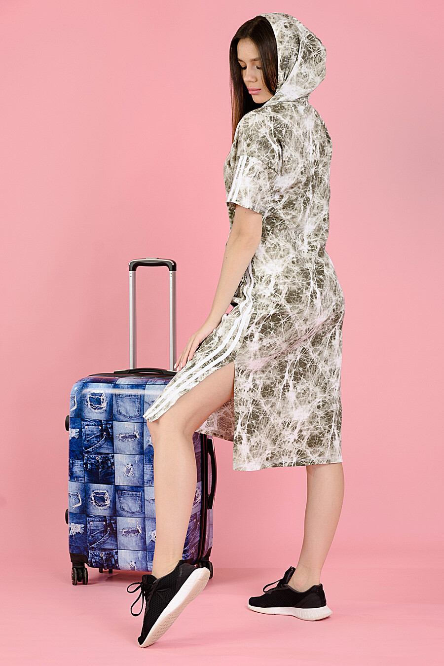 Платье 8118 для женщин НАТАЛИ 682474 купить оптом от производителя. Совместная покупка женской одежды в OptMoyo
