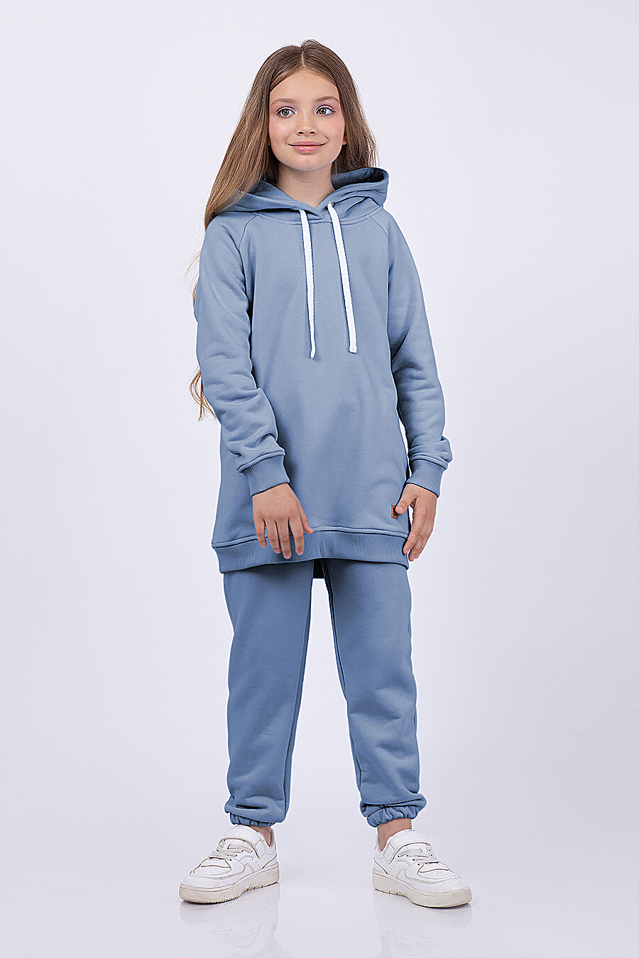Худи для девочек EZANNA 682632 купить оптом от производителя. Совместная покупка детской одежды в OptMoyo