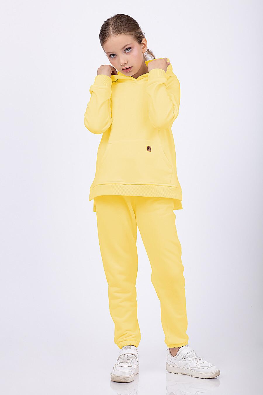 Брюки для девочек EZANNA 682644 купить оптом от производителя. Совместная покупка детской одежды в OptMoyo