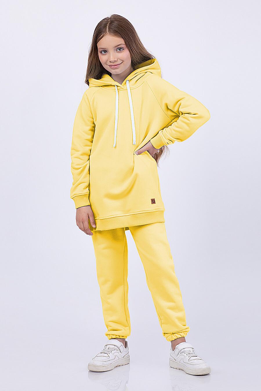 Брюки для девочек EZANNA 682675 купить оптом от производителя. Совместная покупка детской одежды в OptMoyo