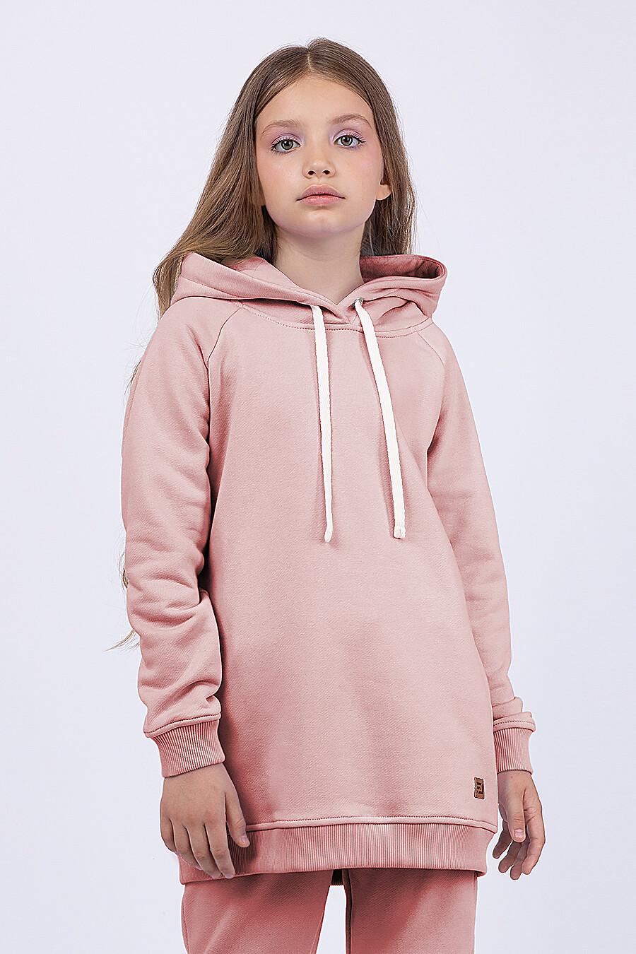 Костюм(Худи+Брюки) для девочек EZANNA 682719 купить оптом от производителя. Совместная покупка детской одежды в OptMoyo