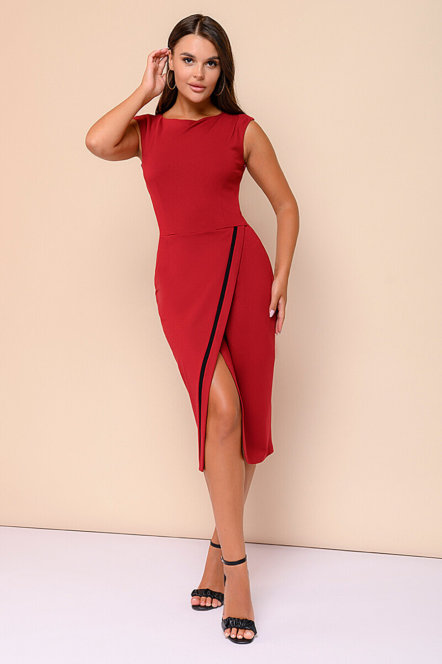 Платье для женщин 1001 DRESS 682803 купить оптом от производителя. Совместная покупка женской одежды в OptMoyo
