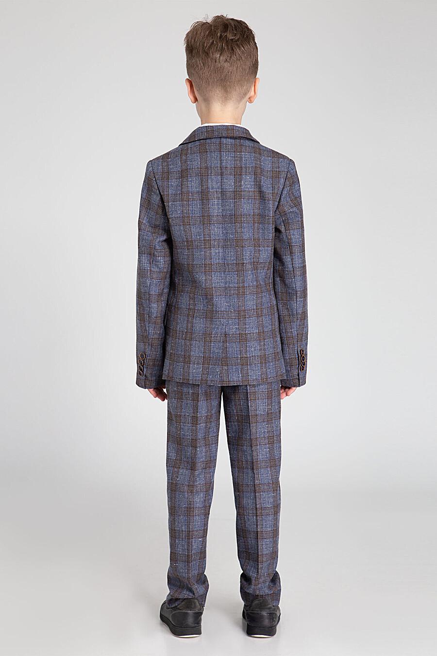 Пиджак  для мальчиков PANDA 682818 купить оптом от производителя. Совместная покупка детской одежды в OptMoyo