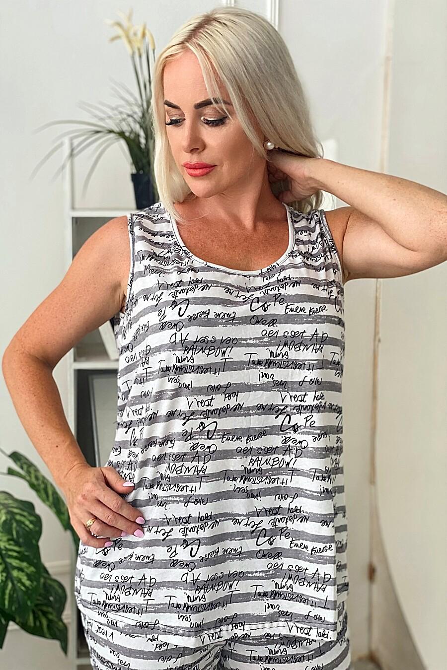 Майка 9075 для женщин НАТАЛИ 682832 купить оптом от производителя. Совместная покупка женской одежды в OptMoyo