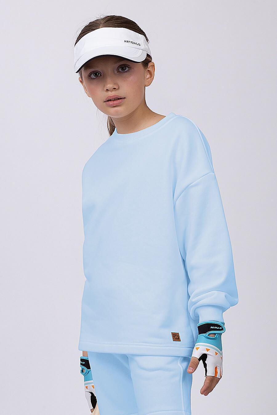 Костюм(Свитшот + Шорты) для девочек EZANNA 683220 купить оптом от производителя. Совместная покупка детской одежды в OptMoyo