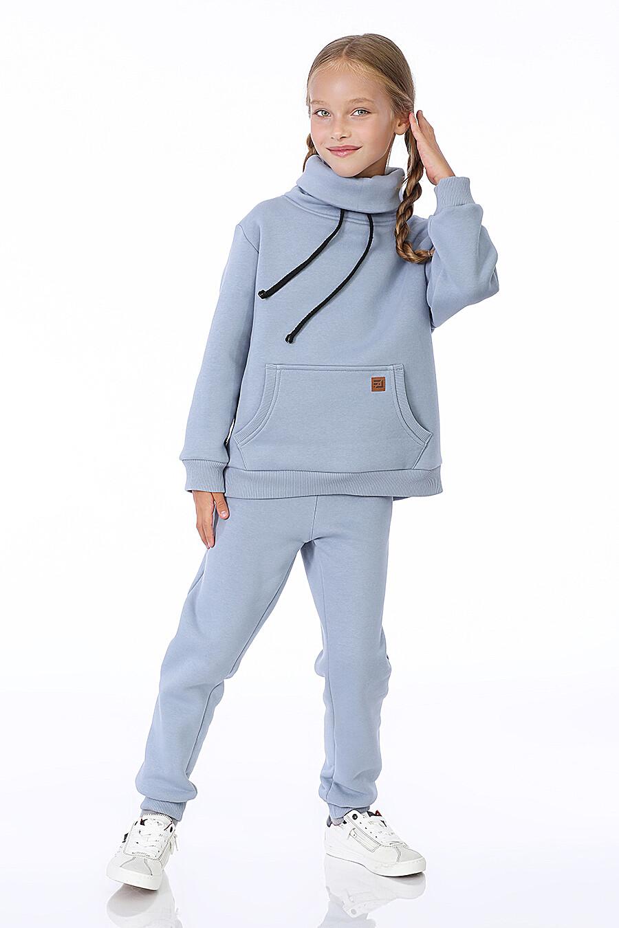Костюм(Худи+Брюки) для девочек EZANNA 699990 купить оптом от производителя. Совместная покупка детской одежды в OptMoyo