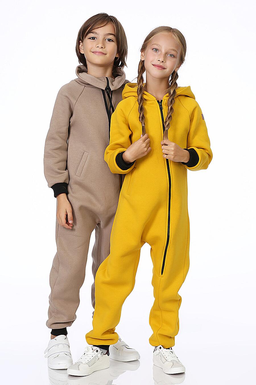 Комбинезон для девочек EZANNA 700013 купить оптом от производителя. Совместная покупка детской одежды в OptMoyo