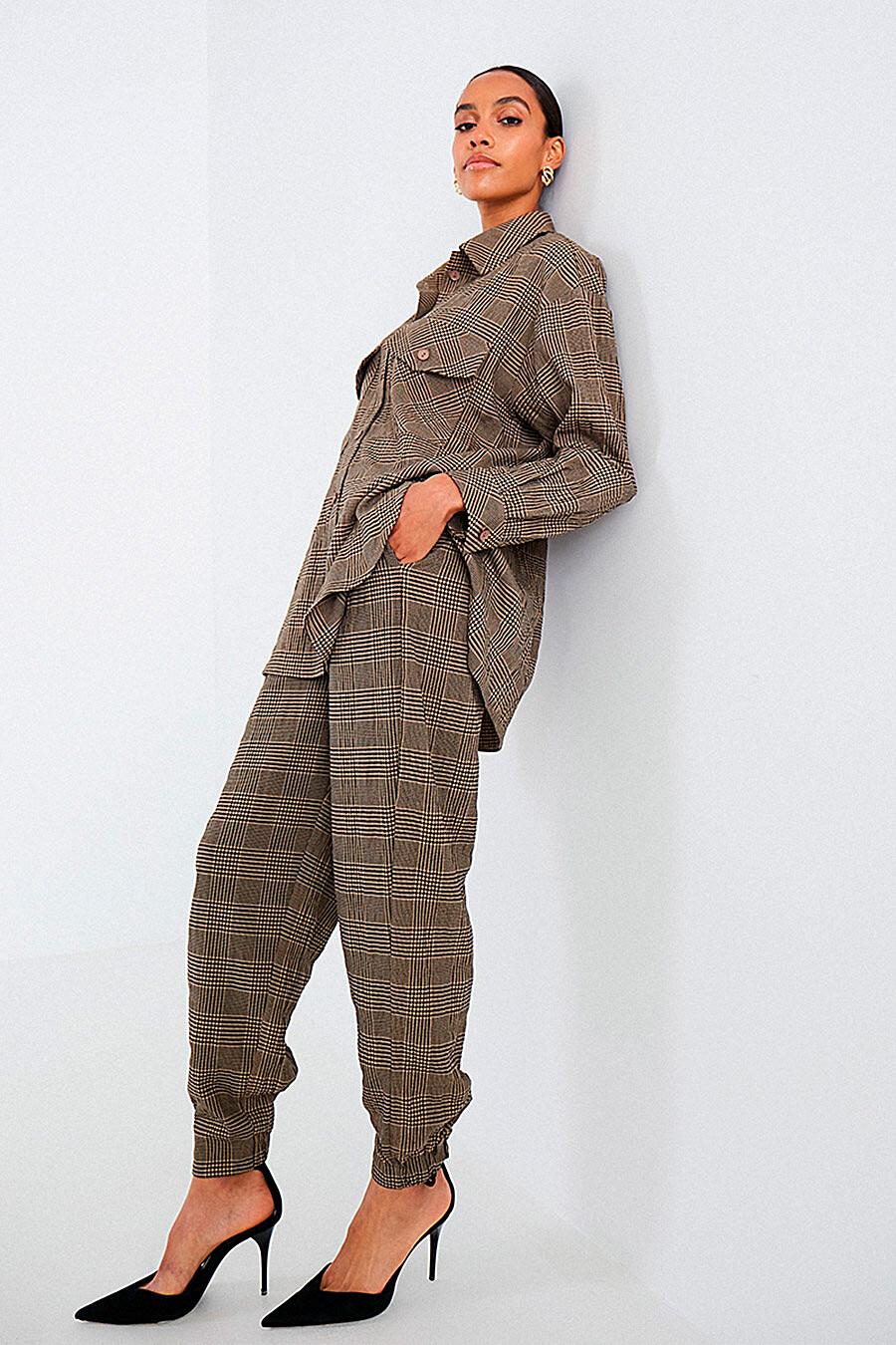 Костюм (Рубашка+Брюки) для женщин DELIA 700031 купить оптом от производителя. Совместная покупка женской одежды в OptMoyo