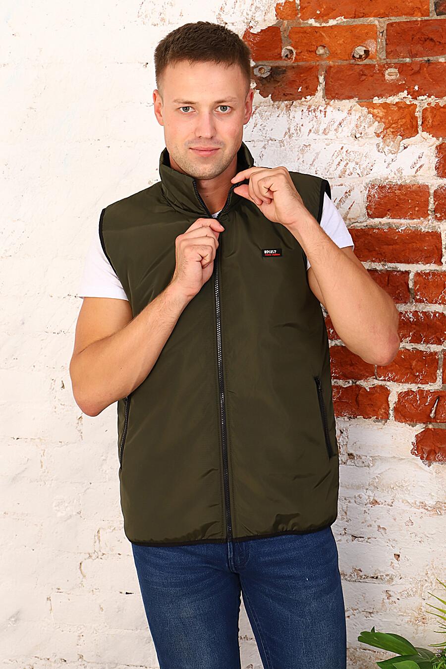 Жилет 4958 для мужчин НАТАЛИ 700183 купить оптом от производителя. Совместная покупка мужской одежды в OptMoyo