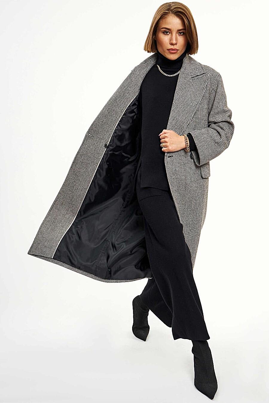 Пальто для женщин CALISTA 700189 купить оптом от производителя. Совместная покупка женской одежды в OptMoyo