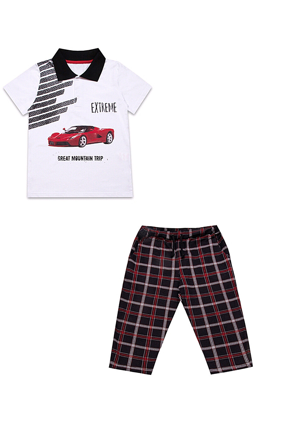 Комплект (футболка+бриджи) для мальчиков АПРЕЛЬ 700210 купить оптом от производителя. Совместная покупка детской одежды в OptMoyo
