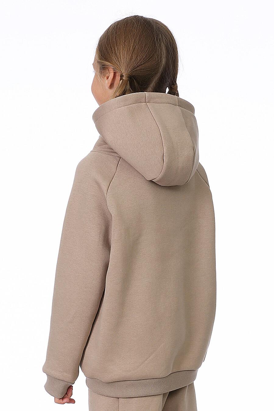 Худи для девочек EZANNA 700219 купить оптом от производителя. Совместная покупка детской одежды в OptMoyo