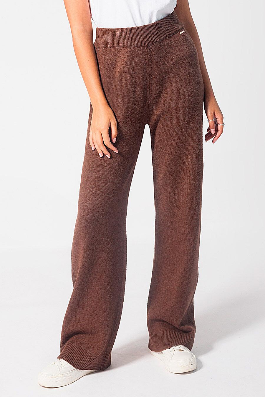 Брюки для женщин VILATTE 700233 купить оптом от производителя. Совместная покупка женской одежды в OptMoyo
