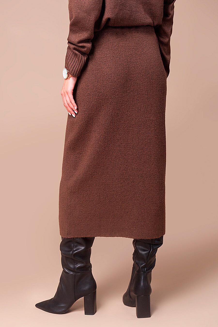 Юбка для женщин VILATTE 700254 купить оптом от производителя. Совместная покупка женской одежды в OptMoyo