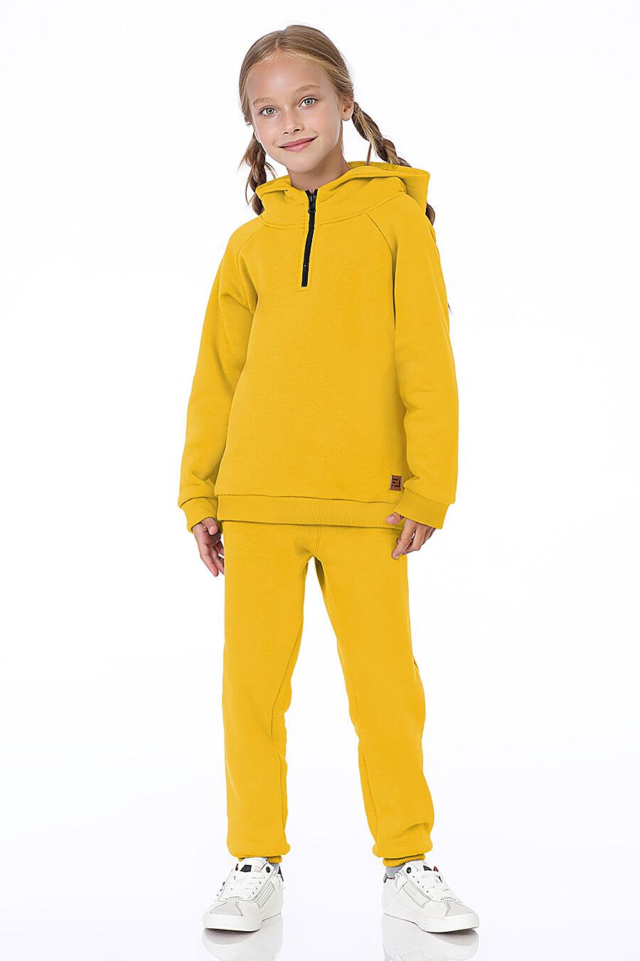 Худи для девочек EZANNA 700300 купить оптом от производителя. Совместная покупка детской одежды в OptMoyo
