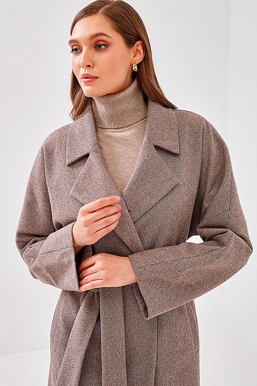 Пальто для женщин VITTORIA VICCI 700446 купить оптом от производителя. Совместная покупка женской одежды в OptMoyo