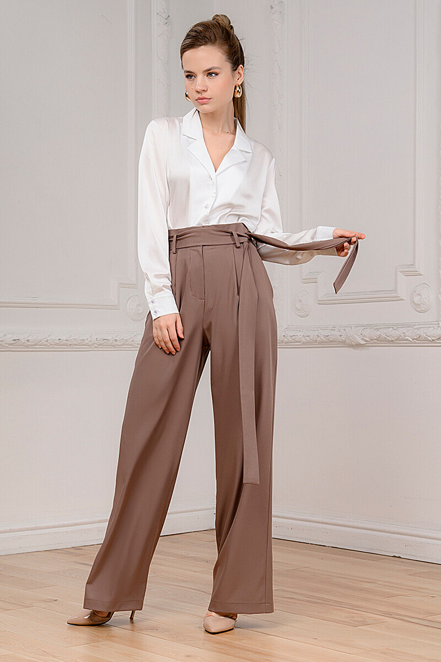 Брюки для женщин 1001 DRESS 707052 купить оптом от производителя. Совместная покупка женской одежды в OptMoyo