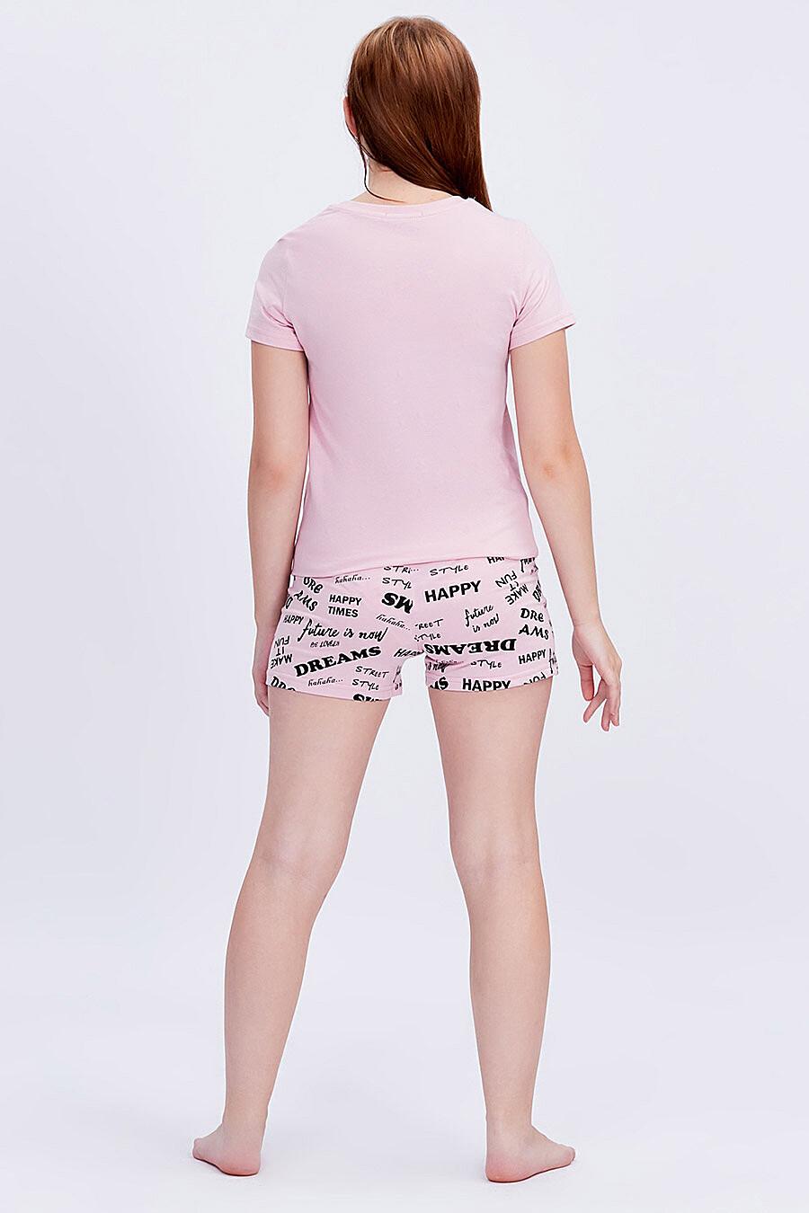 Комплект (Футболка+Шорты) для девочек ROXY FOXY 707352 купить оптом от производителя. Совместная покупка детской одежды в OptMoyo