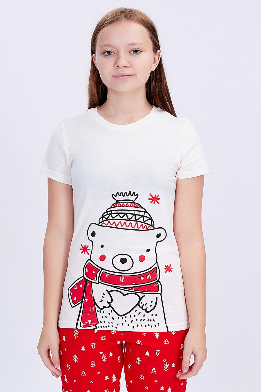 Комплект (Футболка+Брюки) для девочек ROXY FOXY 707357 купить оптом от производителя. Совместная покупка детской одежды в OptMoyo