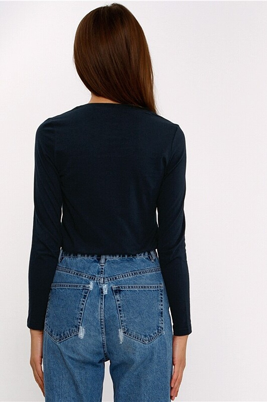 Лонгслив  для женщин АПРЕЛЬ 707966 купить оптом от производителя. Совместная покупка женской одежды в OptMoyo