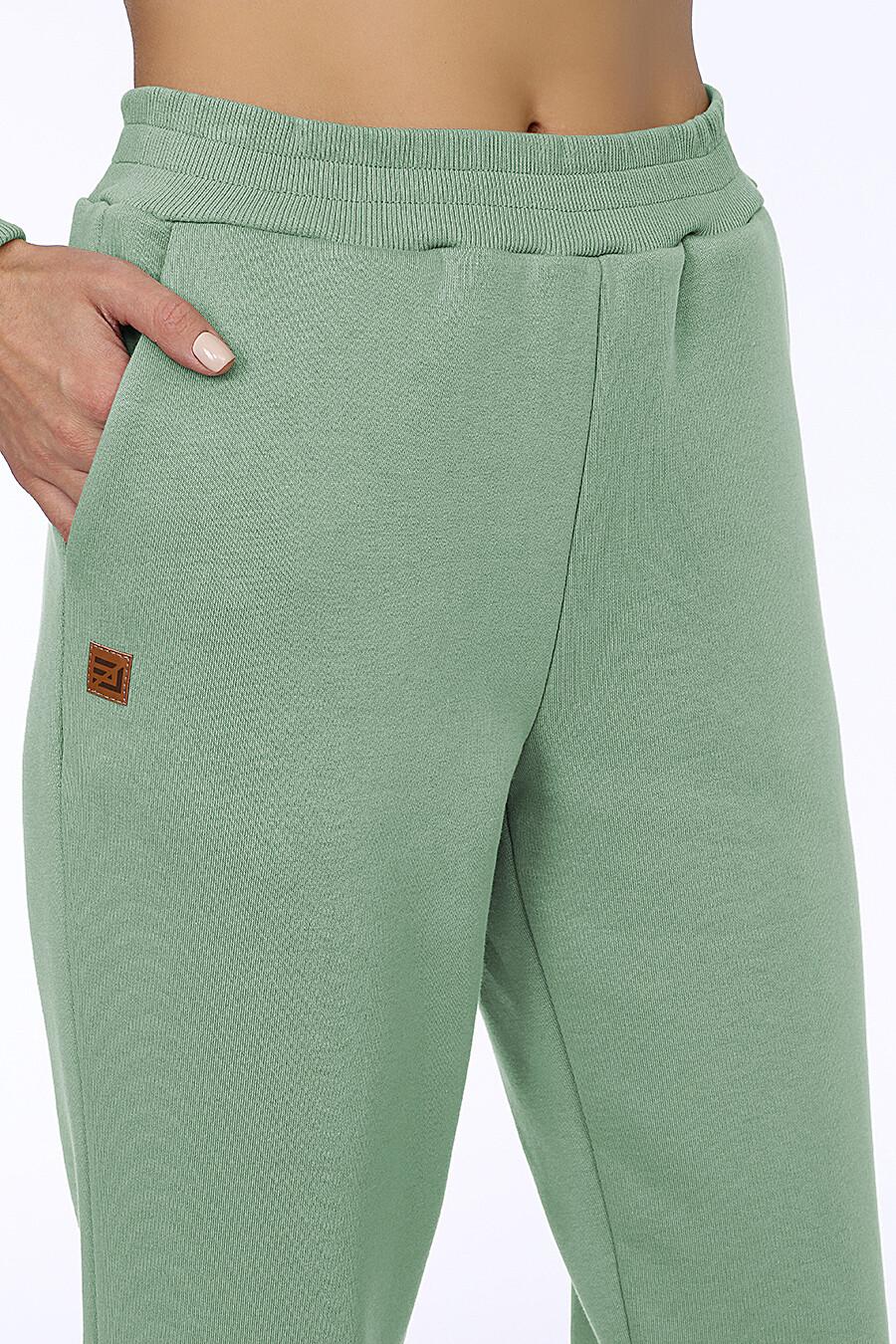 Костюм (Брюки+Худи) для женщин EZANNA 707993 купить оптом от производителя. Совместная покупка женской одежды в OptMoyo