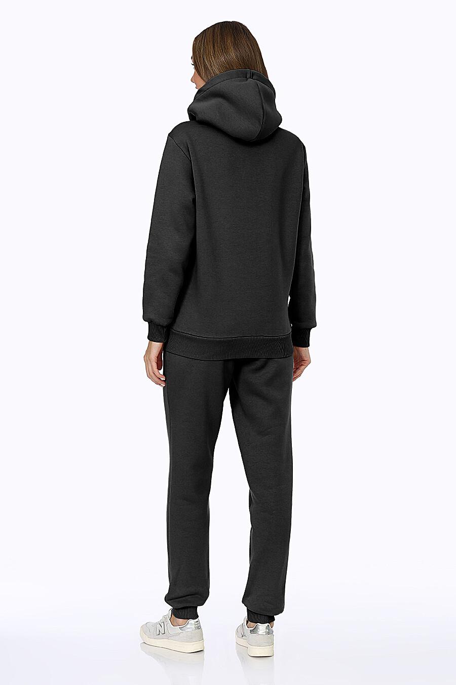 Костюм (Брюки+Худи) для женщин EZANNA 707999 купить оптом от производителя. Совместная покупка женской одежды в OptMoyo