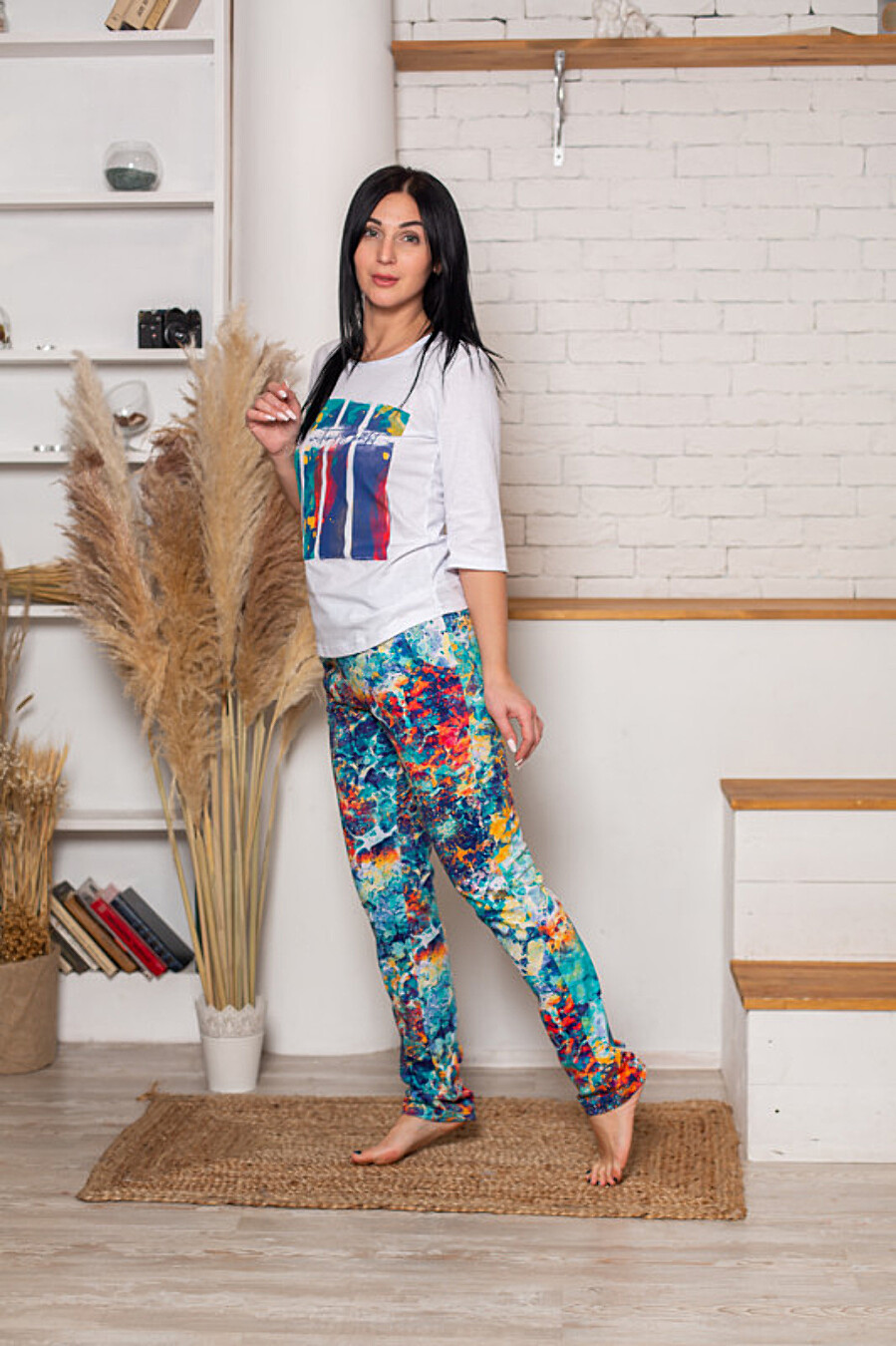 Костюм (футболка+брюки) СОФИЯ37 (708024), купить в Moyo.moda