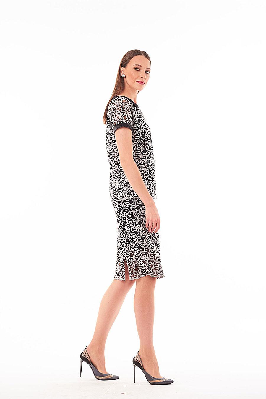 Комплект (Блуза+Топ) для женщин VEMINA 708170 купить оптом от производителя. Совместная покупка женской одежды в OptMoyo